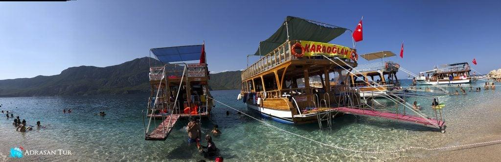 Suluada İlk Durağımız Maldivler Plajı